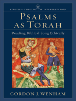 Psalms as Torah (Studies in Theological Interpretation)