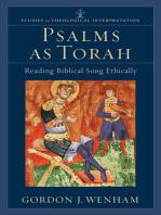 Psalms as Torah (Studies in Theological Interpretation)