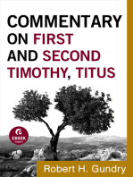 Commentary on First and Second Timothy, Titus (Commentary on the New Testament Book #14)