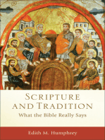 Scripture and Tradition (Acadia Studies in Bible and Theology)