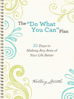 """The """"Do What You Can"""" Plan (Ebook Shorts)"""
