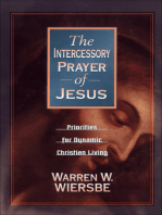 The Intercessory Prayer of Jesus
