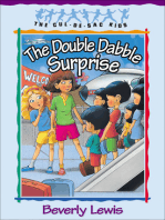 The Double Dabble Surprise (Cul-de-Sac Kids Book #1)