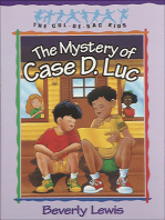 The Mystery of Case D. Luc (Cul-de-Sac Kids Book #6)
