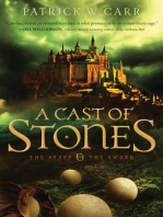 A Cast of Stones (The Staff and the Sword)