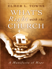 What's Right with the Church: A Manifesto of Hope