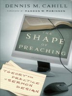 The Shape of Preaching