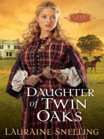 Daughter of Twin Oaks (A Secret Refuge Book #1)