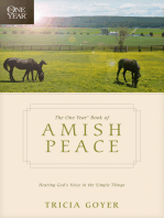 The One Year Book of Amish Peace