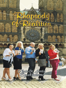 Rhapsody of Realities August 2014 Edition