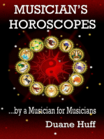 Musician's Horoscopes ...by a Musician for Musicians