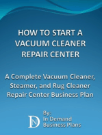 How To Start A Vacuum Cleaner Repair Center