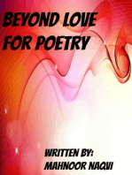 Beyond Love for Poetry