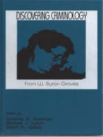 Discovering Criminology: From W. Byron Groves