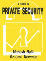 A Primer in Private Security