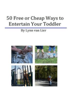 50 Free or Cheap Ways to Entertain Your Toddler