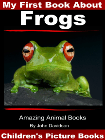 My First Book about Frogs: Children's Picture Books
