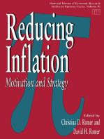 Reducing Inflation: Motivation and Strategy