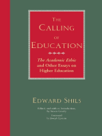 The Calling of Education