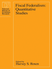 Fiscal Federalism: Quantitative Studies