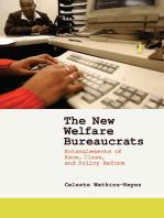 The New Welfare Bureaucrats