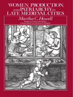 Women, Production, and Patriarchy in Late Medieval Cities