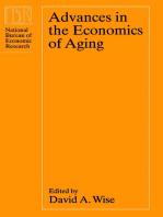 Advances in the Economics of Aging