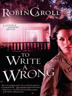 To Write a Wrong