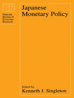 Japanese Monetary Policy