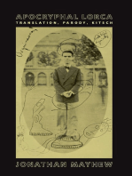 Apocryphal Lorca: Translation, Parody, Kitsch