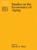 Studies in the Economics of Aging