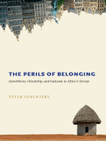 The Perils of Belonging