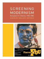Screening Modernism