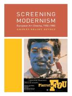 Screening Modernism