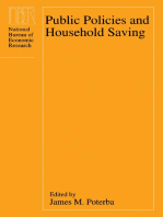 Public Policies and Household Saving