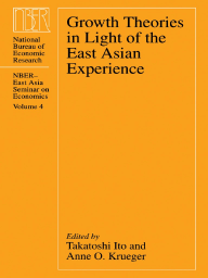 Growth Theories in Light of the East Asian Experience