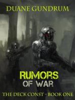 Rumors of War (The Deck Const, #1)