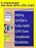 Meeting Certified in Public Health (CPH) Exam Competencies