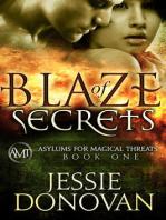 Blaze of Secrets (Asylums for Magical Threats, #1)