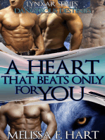 A Heart that Beats Only for You (Lynxar Series - Dangerous Destinies, Book 19) (Superhero Romance - Werewolf Romance)