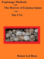 Espionage Methods And The Horror of Echelon-Imint And The CIA