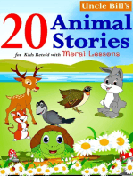 20 Animal Stories for Kids Retold with Moral Lessons