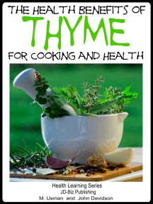Health Benefits of Thyme For Cooking and Health
