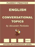 English, Conversational Topics, Upper-Intermediate