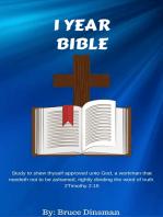 1 Year Bible Reading