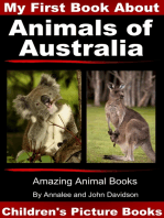 My First Book about Animals of Australia