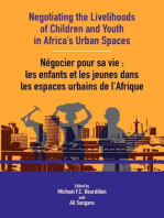 Negotiating the Livelihoods of Children and Youth in Africa's Urban Spaces