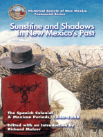 Sunshine and Shadows in New Mexico's Past, Volume 1