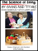 The Science of Living by Giving and Tithes