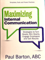 Maximizing Internal Communication